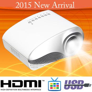 2014 New HDMI Portable Projector LED Mini Handheld Proyector TV Tuner VGA SD USB Quality Projektor Home Beamer Christmas Gifts