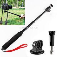 3ni1 Handheld Extendable Monopod Pole Rod + Tripod Mount Adapter + Gopro Screw for Gopro Hero 1 2 3