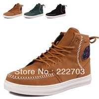 Winter high-top cotton-padded warm hot selling For mens sneakers new 2013 shoes men casual discount online zapatos de hombre