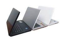 13.3 inch laptop computer with CD/DVD-ROM intel atom D2500/N2600 1.86 GHZ Dual Core 4GB 500GB windows 7 camera laptop notebook