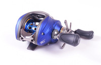 Free Shipping Luxurious Bait Casting  Baitcasting Fishing Reel For Lure One-way+10 ball bearings 6.3:1 Gear Ratio   Left Hand