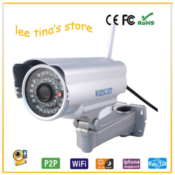 New  Megapixel 720P Pan/Tilt H.264 IR Cut Outdoor Waterproof Wireless Security Monitor Night Vision Network IP Internet Camera