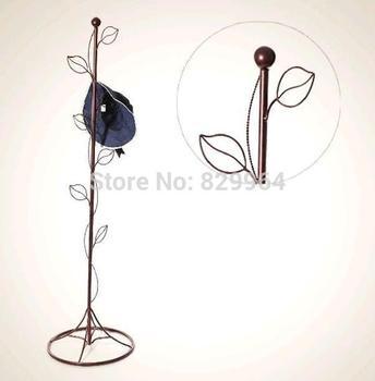100% metal coat rack, longevity, anti rust, folding iron hangers, white/black/bronze coat racks stand, living room furniture