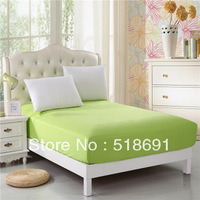 Special offer free shipping 100% cotton solid color bedding bed skirt bedspread Fitted Sheets variety of colors
