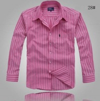 Free shipping new heat free delivery men's casual fashion wearing long sleeved shirts are slim. Full color. Size: s-xxxl