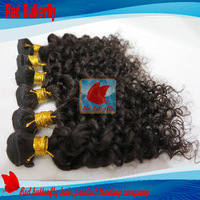 Free Shipping unprocessed virgin  Peruvian hair Curly 6A virgin Afro Kinky Curly hair 3pcs/lot mix length12-30inch natural color