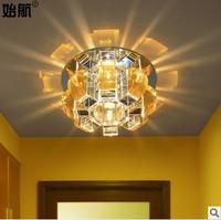 Free shipping! 9/10cm led crystal ceiling light lamp for bedroom/dinning room/living room/balcony/corridor/led ceiling light !