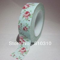 Free shipping retail printed all kinds patterns 15mm*15m 86 designs washi xmas tape office adhesive masking tape(20pcs/Lot)