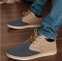 Hot! 2013 New autumn men's casual shoes men's lazy bones shoes daily fashion sneakers man shoes