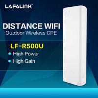 2.4g High Power Wireless WiFi Bridge Outdoor CPE AP POE Power Supply 150Mbps 14dBi, Send+ Receive Wifi Internet