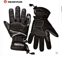 Free shipping 2014 new authentic SCOYCO motorcycle gloves / ski waterproof warm gloves