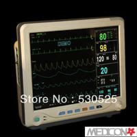 15'' TFT CMS9200 6 Multiparameter ICU Patient Monitor SPO2 PR NIBP RESP Temp ECG