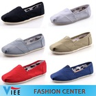 Free shipping 2013 brand new women and men canvas shoes canvas flats loafers casual single shoes solid sneakers for women HC0002(China (Mainland))
