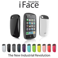 New Fashion iFace 2 Case For Apple 4 4s,Korea Style Candy Color iFace Revolution Cover For iPhone 4S 4G,Free Shipping