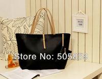 Black Leather Fashion Luxury Lady Ladies Women's Messenger Bags Woman Shoulder Handbag Bag