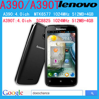 Original lenovo A390 * A390t  phone dual-core mobile phone android 4.0 MTK6577 Dual core mobile