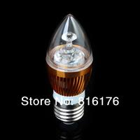 AC85~265V E27 Warm White LED Crystal Light LED Spot Light Bulb Lamps