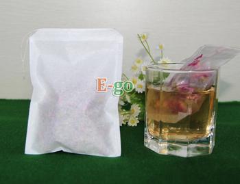 "90 X125mm 3.5""X 5""Single drawstring tea bag, Filter paper, Herb bags , filtering Herb tea, for Chinese Medicine"