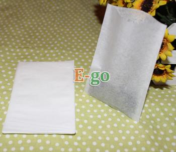 """High-class!1000pcs/lot  80x120mm 3.1""""X4.7"""" EmptyFilter Paper Tea Bags, Heat-sealing, Chinese Medicine Bag"""