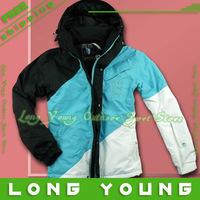 2013 Fashion men's waterproof jacket  breathing ski suit ski jacket men  for skiing and snowboarding,free ship