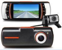 New model MX3 H.264 Full HD1080P 30FPS Dual Lens Car vehicle Camera digital Video Recorder DVR CAM G-sensor Black box GPS option