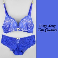 Very Sexy Lace design Bra and Panty Set (S020) Quality Underwear push up bras  Women brassiere Lingerie free shipping