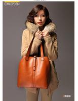 2014 women's fahsion leather handbags vintage shoulder  bags top grade  messenger bag free shipping S0208