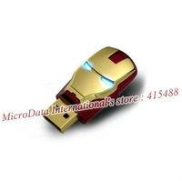 USB Flash Drive 64GB Pen Drive Pendrive Flash Drive Card Memory Stick Drives 32GB 16GB 8GB MicroData Fashion Avengers Iron Man