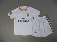 new Free Shipping high quality 2014 13 14 real madrid home kids Soccer  Jersey  Soccer Shirt.