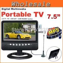 portable color tv promotion