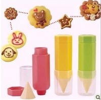 Food Drawing pen triangle set diy cookises biscuit mould cake bread making tools(1set=3pcs)
