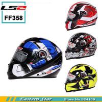 Newest LS2 FF 358 Full face Motorcycle Helmet, Urban Racing Helmet