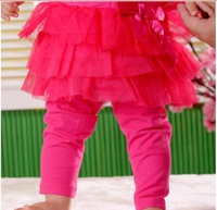 new 2014 baby & kids girls pants,children pants princess kids baby craps,baby tights,black pink red gray baby clothing
