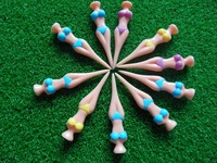 Free shipping 12pcs Exquisite Durable Plastic Sexy Girl Lady Model Bikini Sries Golf Tee With Colorful 80mm Golf Tees