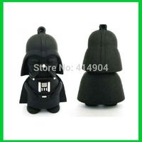 Hotsale Cartoon Full Capacity Star War Dark Darth Vader a USB Flash Drive pendrive thumb Memory Card Car Pen Key