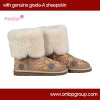 Genuine sheepskin 2014 winter boots