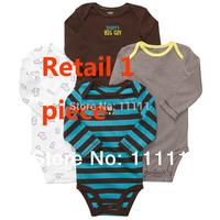 Newborn Baby Romper baby clothing carters baby girl boy conjuntos  long sleeve MOQ 1PCS free shipping