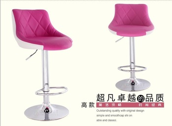 commercial modern Bar stools About 1 5Days Shipping 2pieces wholesale   Rotates 360 degrees many colors to choose