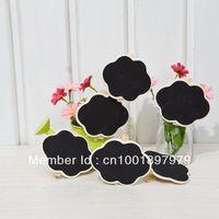 Free Shipping 50pcs Mini Cloud Shape Blackboard Chalkboard Peg Clip Wedding Gift Card Favours 8.5*6cm HB05