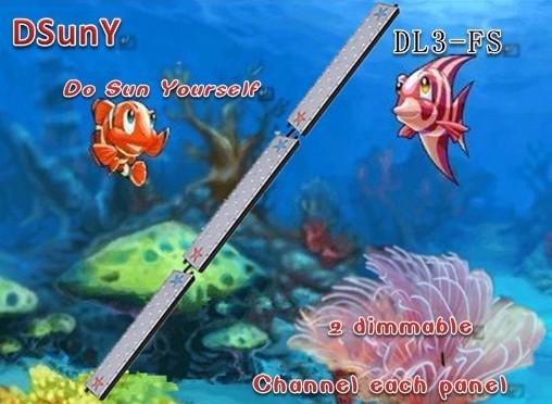 High potency dimmable freshwater fish plant tank led aquarium light