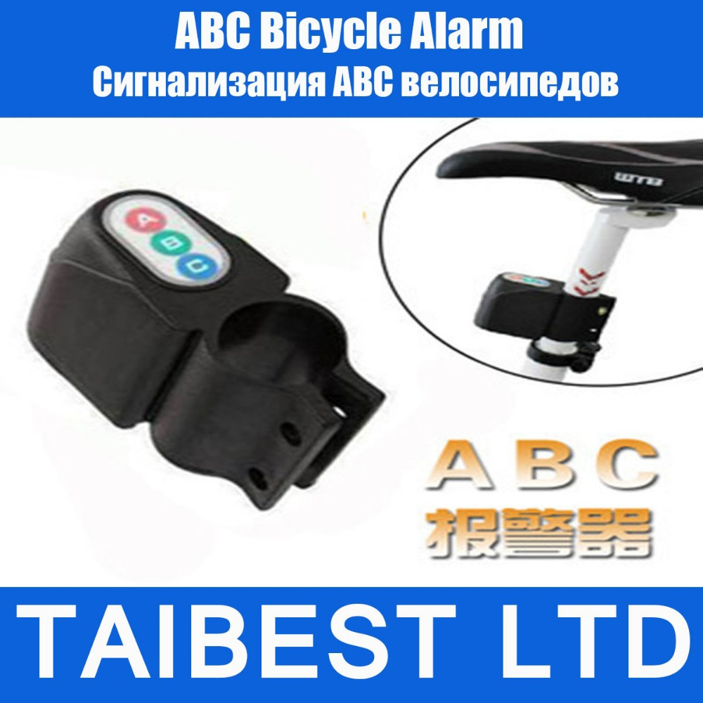 Bicycle Bike Alarm Siren Alertor Security Moped Steal Audible Voice Sound Digital Lock(China (Mainland))