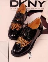Sexy Leopard Flats Casual Ballet Girls Shoes Women Korean Tassels PU Shoes Female Flat Shoes free shipping  drop shipping