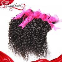 6A Grade Mix Any Size 3 pcs Lot Brazilian Virgin Hair Curly, Virgin Human Hair Weave Brazilian Deep Curly Free Shipping