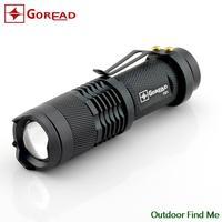 NEW  Lanterna Bike Lantern LED CREE Q5 Lamps Tactical Flashlight Penlight Mini Flashlight Zoom Outdoor Linternas Use 14450OrAA
