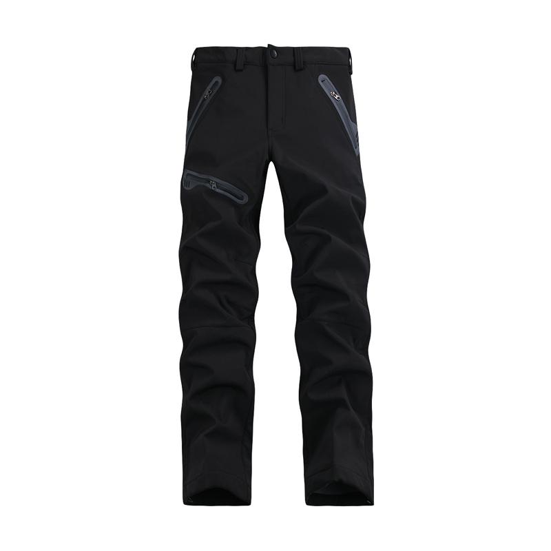 2014 nuovo primavera/autunno/inverno pantaloni da uomo, uomini vento caldo esterno impermeabile softshell pantaloni sport