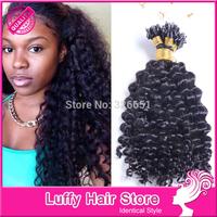 Luffy hair products microp bead hair extensions ,malaysian virgin human hair ,0.9g/piece micro loop ring hair extensions