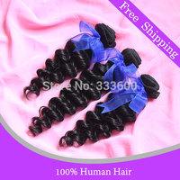 Jack Hair brazilian deep wave hair 3 pcs bundles natural color cheap brazilian deep wave curly hair weave