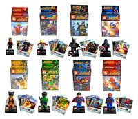 The Avengers Iron Man,Hulk,Batman,Wolverine,Thor,Superman,Captain America,Spider-Man Building Blocks Bricks Toys for Children