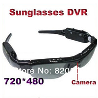 Sales promotion new 2013 hidden camera sunglasses mini dvr hidden sun glasses camera video recorder mini camcorder hd 720p.SU01