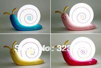 Hot Sale Novelty Night Light Snail Shape LED rechargeable Lamp Home Decor